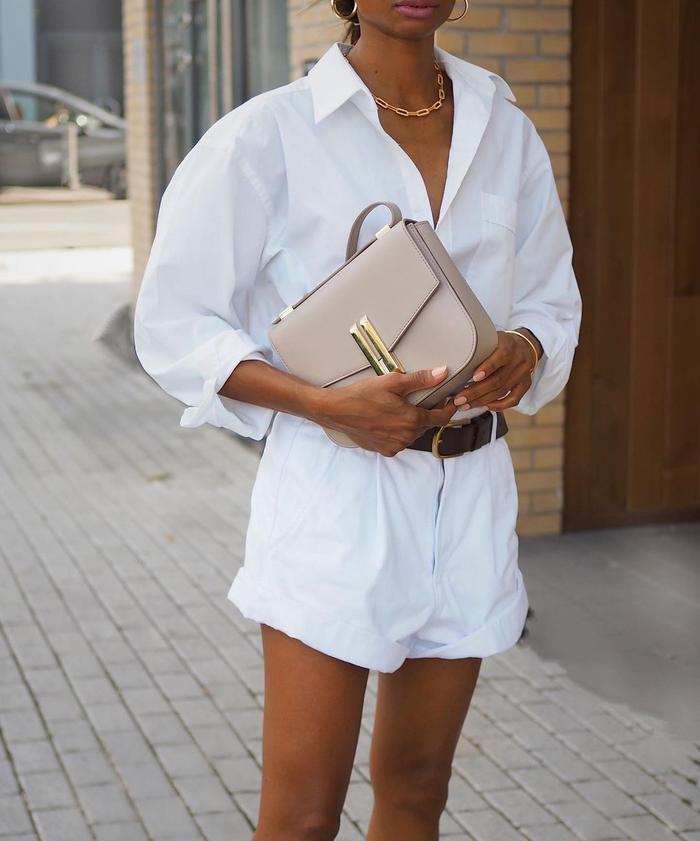 Effortless summer outfit idea