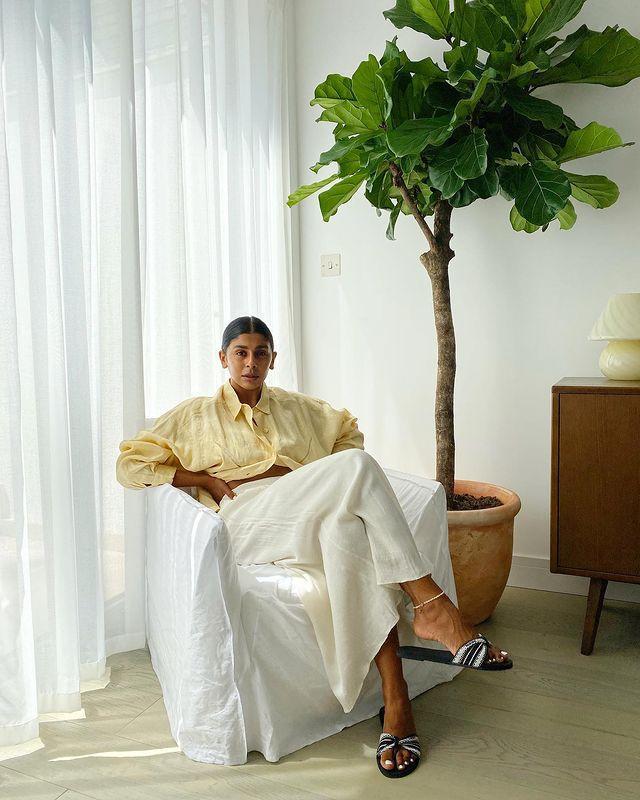 Linen Skirts for Summer: @monikh