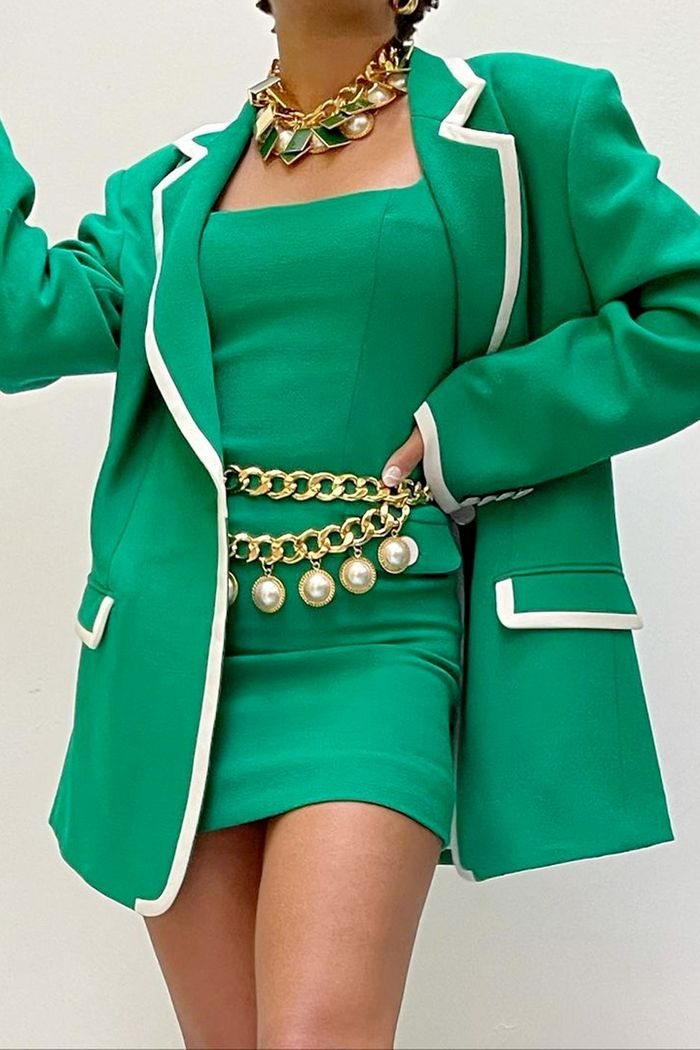Paintbox colours fashion trend: pea green