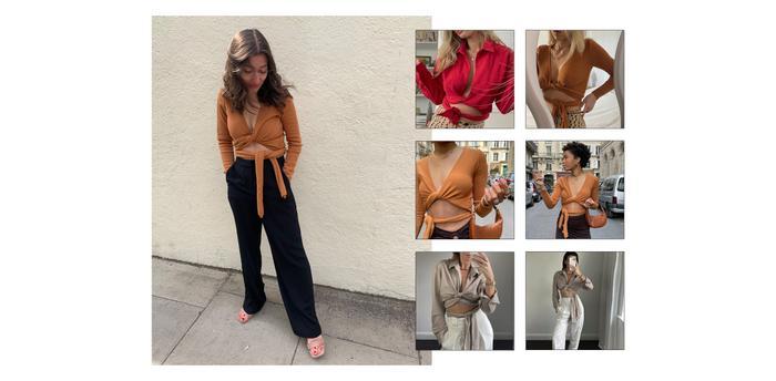 Instagram Trends Try-On: Musier Paris Alma Knit
