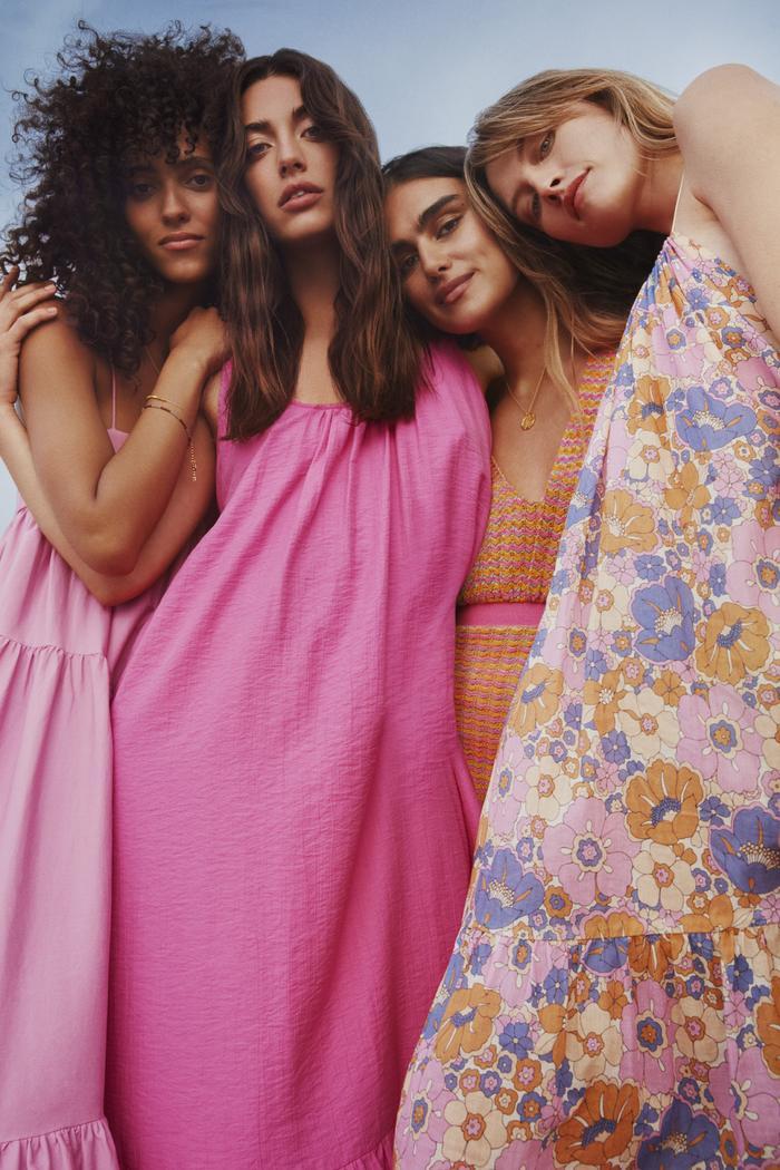 Mango Summer Collection: The collection boasts a joyful colour palette