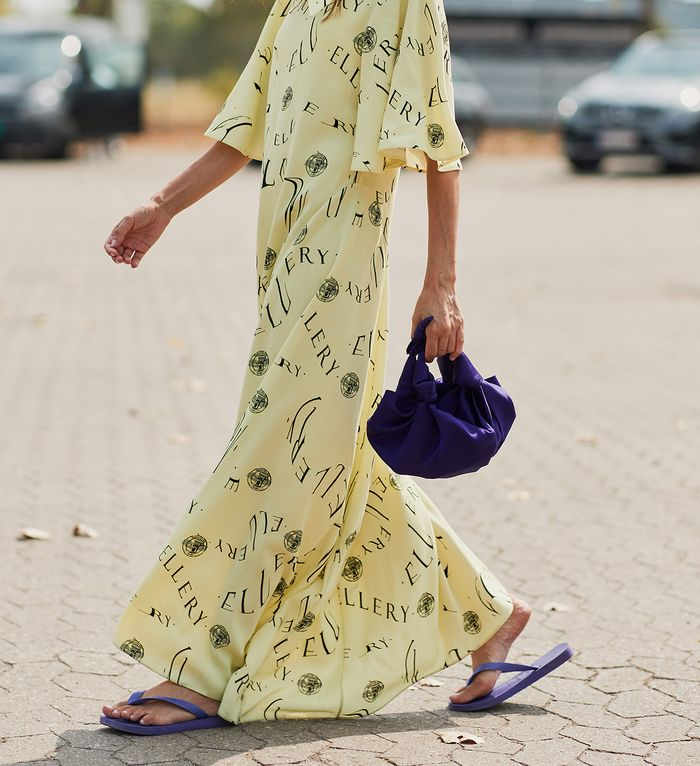 Net-a-Porter dress and sandal outfits