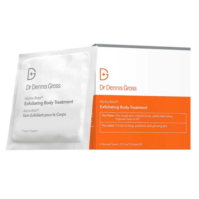 Dr. Dennis Gross Skincare Alpha Beta Exfoliating Body Treatment Peel
