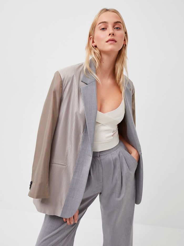 French Connection Ikari Recycled Colorblock Blazer