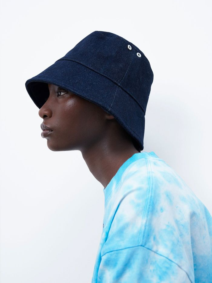 Zara Denim Bucket Hat