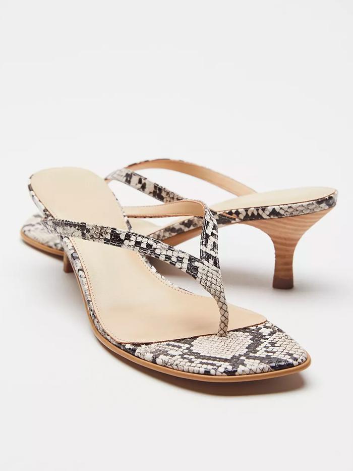 Urban Outfitters Stassi Thong Kitten Heel