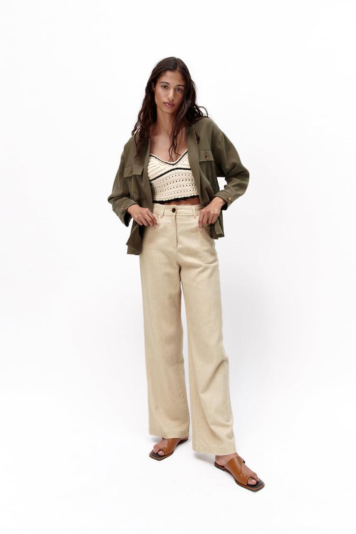 Zara Ruffled Jacket