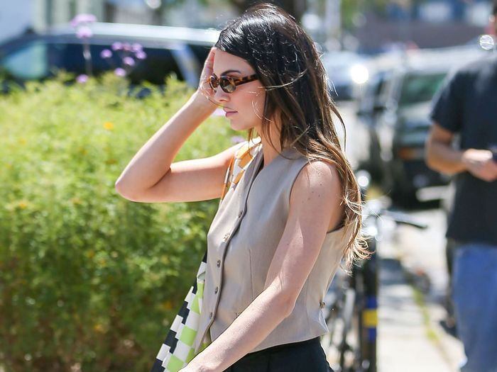 Kendall Jenner Wore the Shirt Trend That Isn't Actually a Shirt