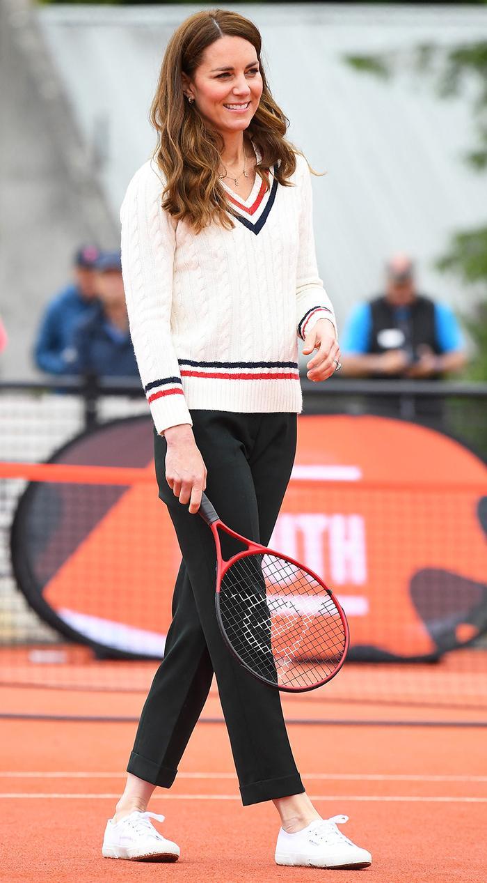 Kate Middleton tennis outfit