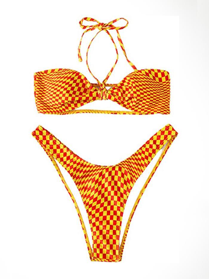 Soly Hux Checkered Bikini