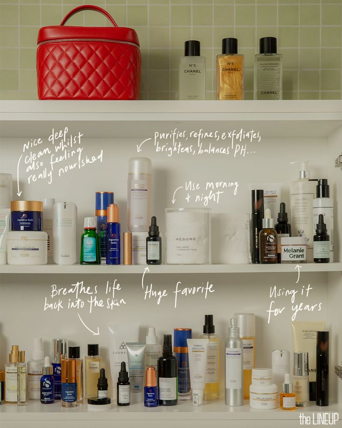 Melanie Grant's go-to beauty products