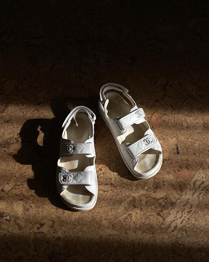 best designer fashion items 2021: Chanel Dad sandals