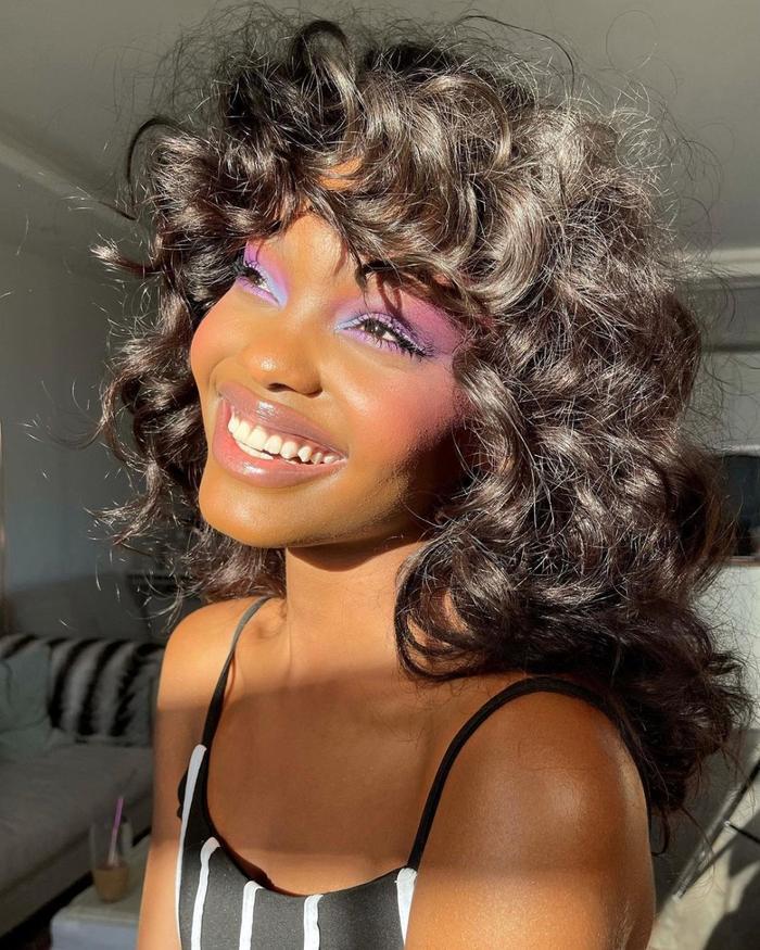 purple eye shadow looks