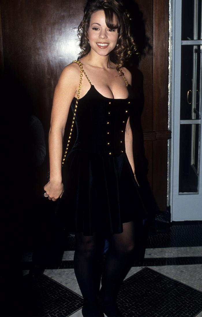 Mariah Carey 90s looks
