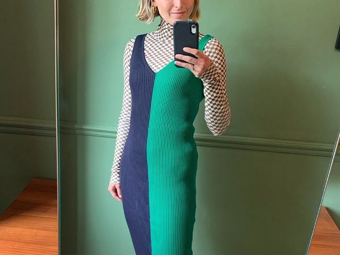 The Summer Dress That Just Converted Me Back to Body-Con