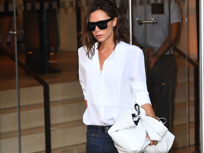 Victoria Beckham's favorite jeans and denim trends
