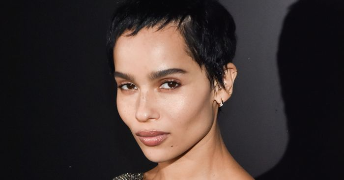 Only Zoë Kravitz Could Make a Basic Tank Top Look This Cool