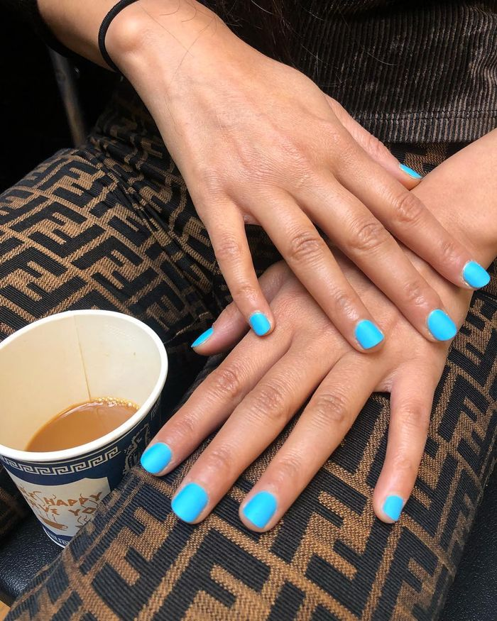 Blue Nail Trend