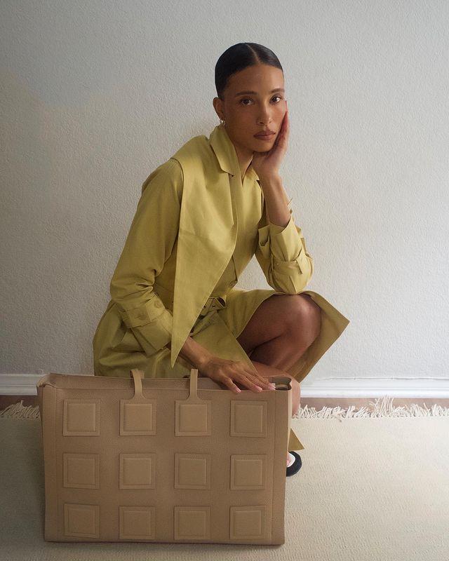 Trending Brands Summer 2021: @tylynnnguyen wears Oroton