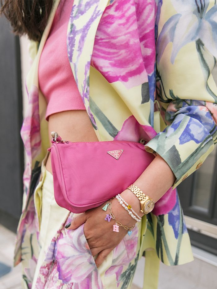 London Street Style Accessories: Prada Bag