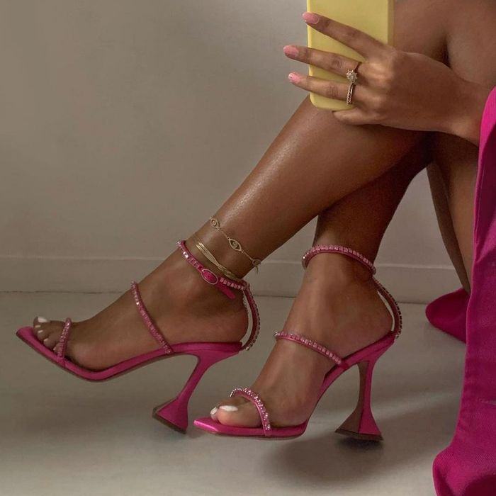 Latest cool shoes: Amina Muaddi