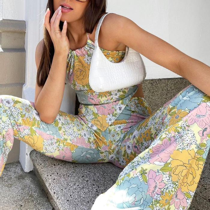 Wayf Floral Outfit Nordstrom @emmaleger
