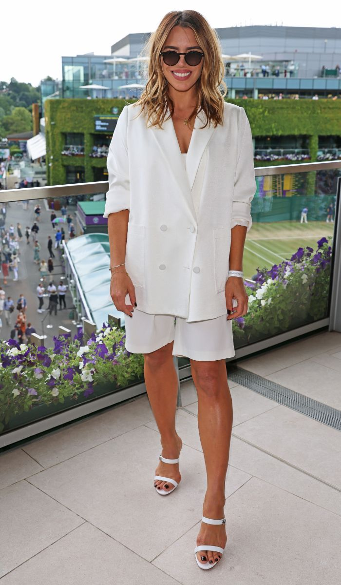 Billie Piper Just Wore the Perfect Wimbledon Outfit