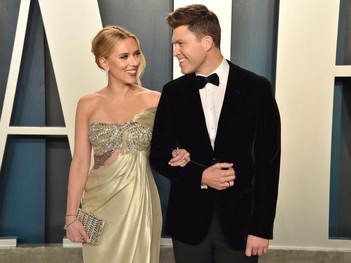 Scarlett Johansson pregnant - Colin Jost new baby