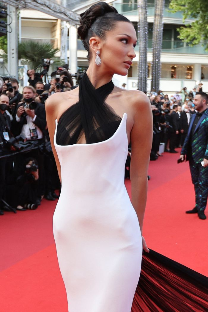Cannes best dressed 2021: Bella Hadid in Jean Paul Gaultier