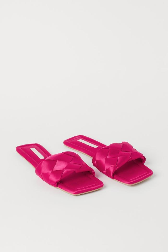 H&M Satin Indoor Slides