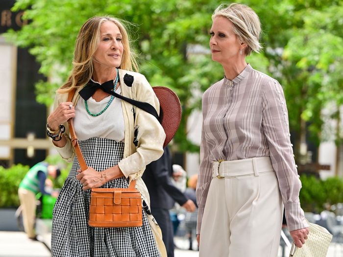 The Sex and the City Reboot Is Officially Filming—See Carrie's 2021 Shoe Trends