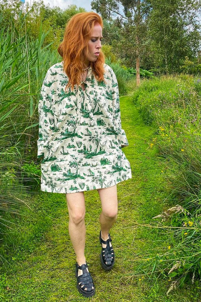 Angela Scanlon summer style