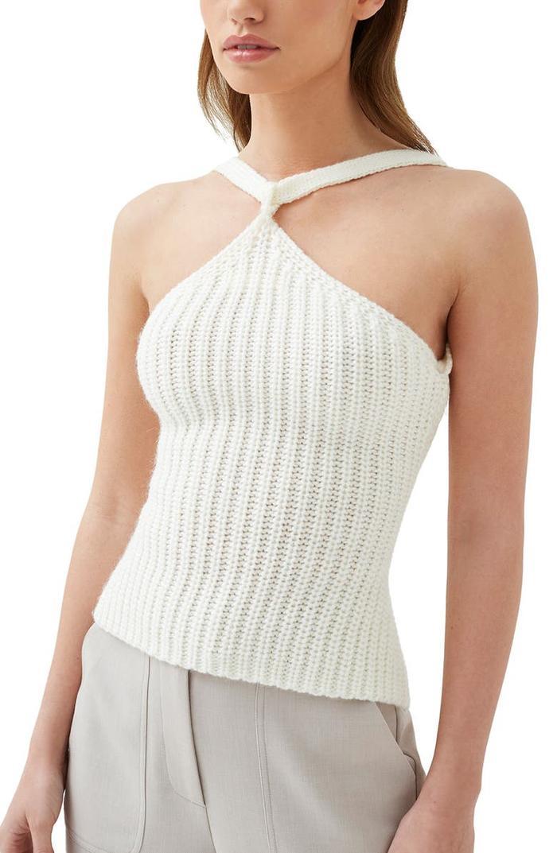 4th & Reckless Lauren Sweater Halter Top