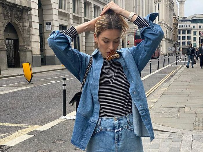 8 Denim Looks We'll Happily Live in for the Next Six Months