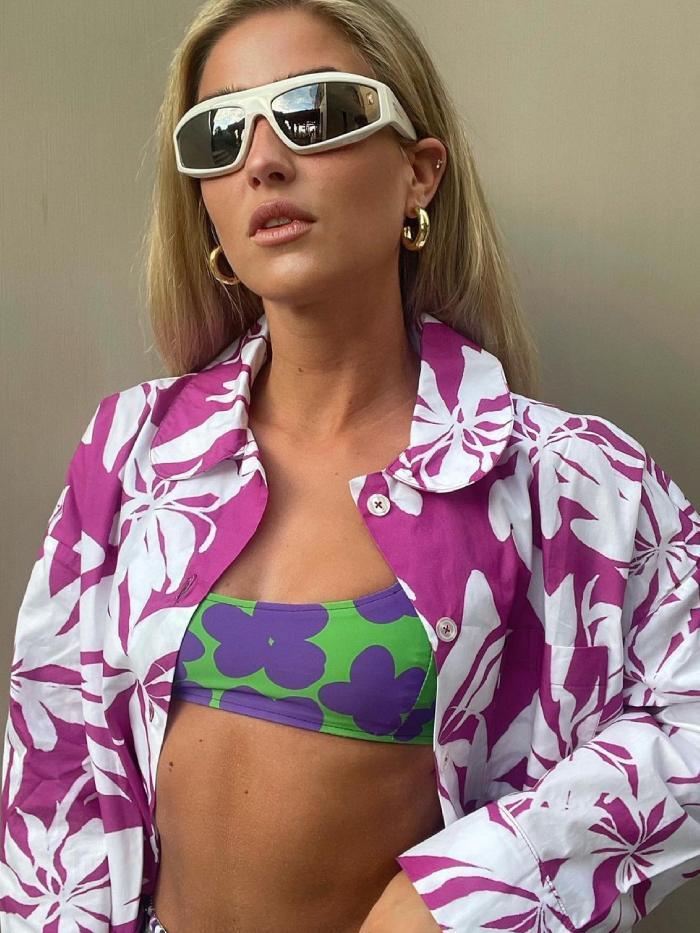 new swimsuit brands: emili sindlev wearing balou