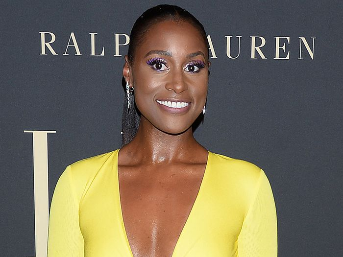 Issa Rae's Plunging Wedding Reception Dress Just Won the Entire Weekend