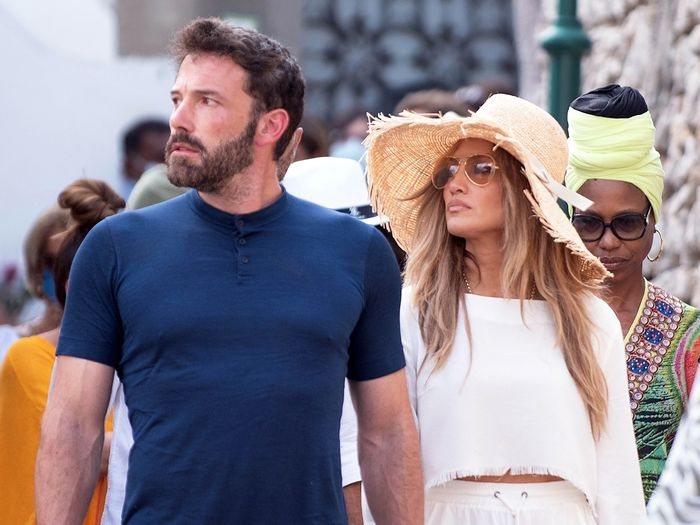 J.Lo and Ben Affleck Wore This Matching Item While Sightseeing Together in Italy