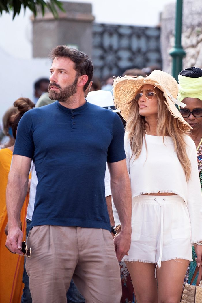 J.Lo and Ben Affleck in Italy