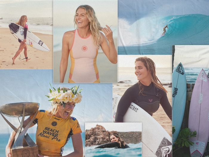 Olympic swimmers, Stephanie Gilmore and Caroline Marks on surfing and sustainable fashion