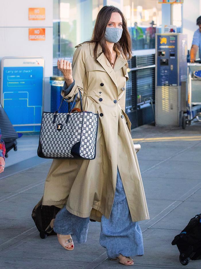 Angelina Jolie airport