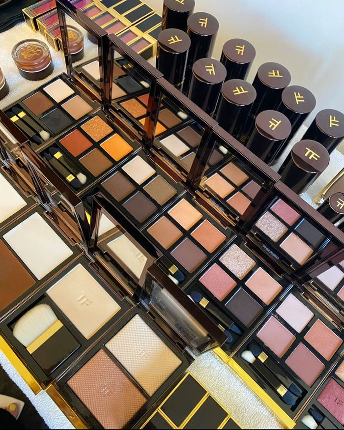 Tom Ford matte eyeshadow palettes