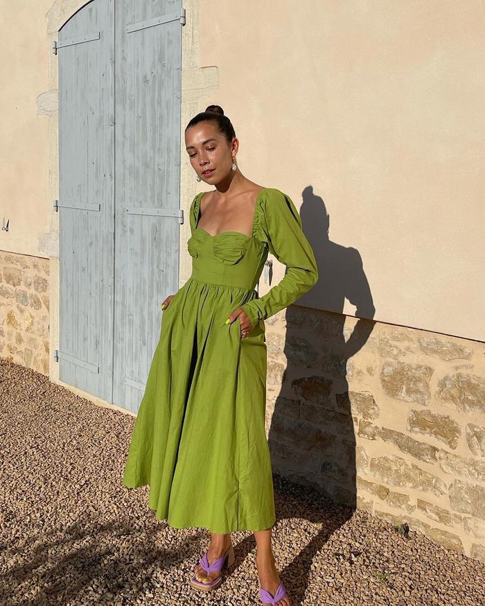autumn trending colour shopping picks: greens