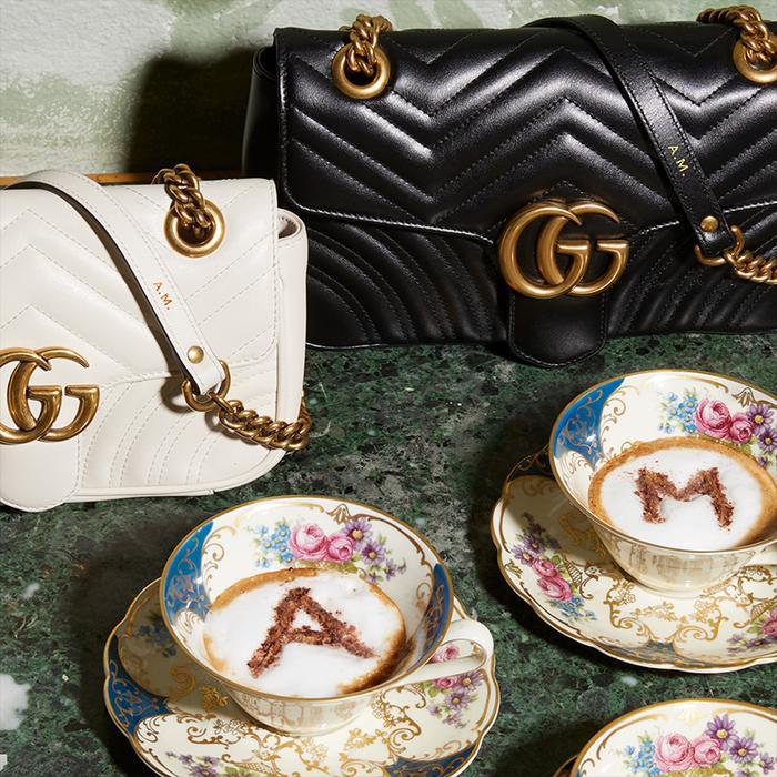Shop Monogrammed Gucci Bags