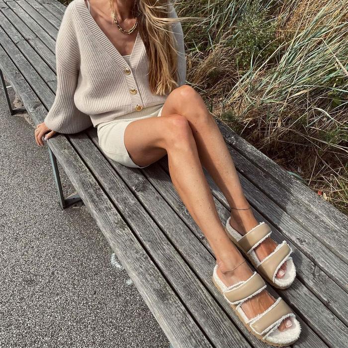 Gia Borghini x Pernille Teisbaek Sandals