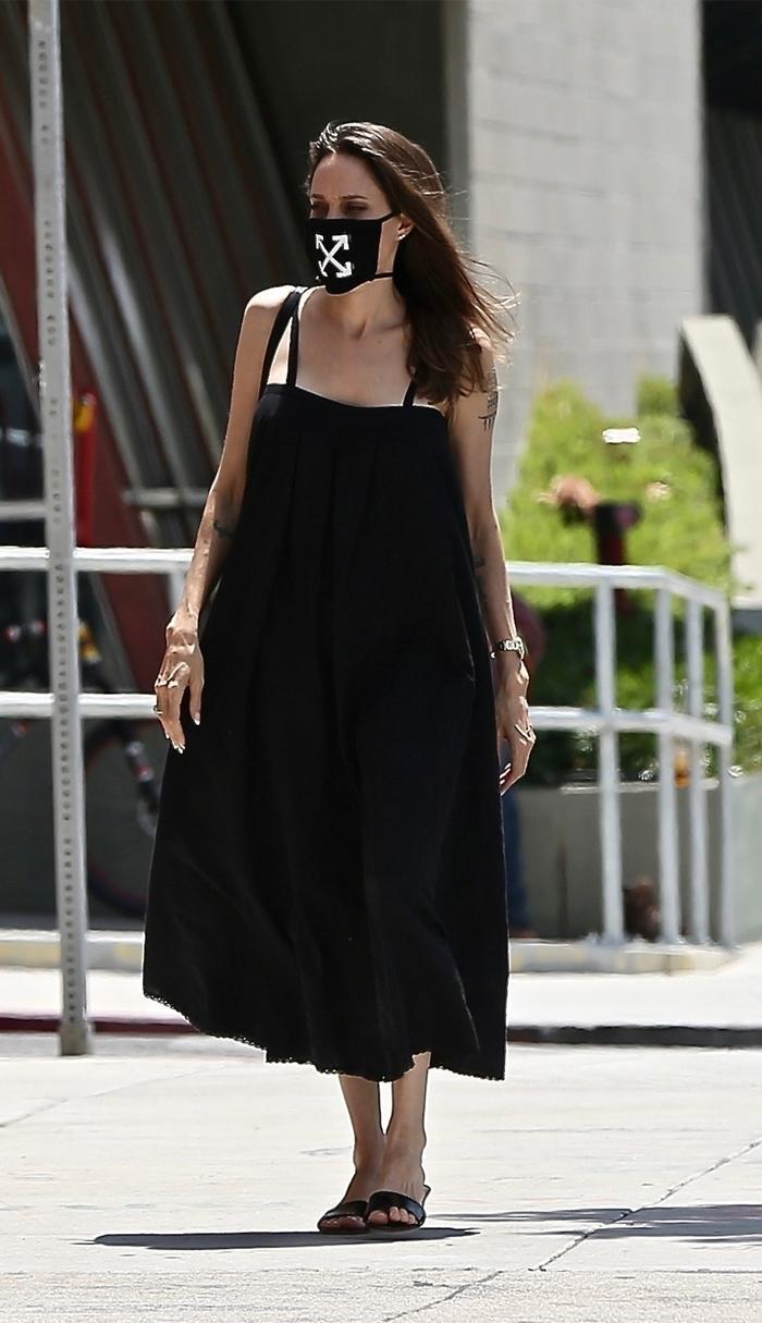 Angelina Jolie LBD