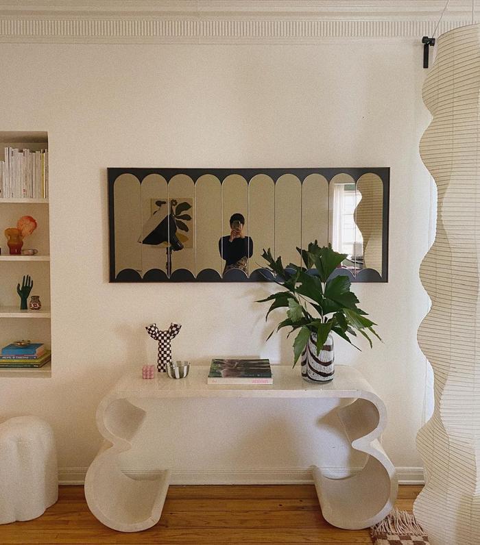 Funky mirror trend