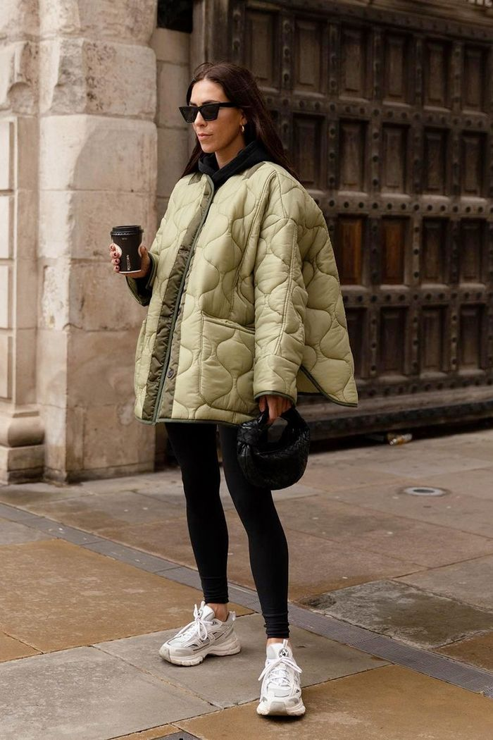 Frankie Shop quilted jacket
