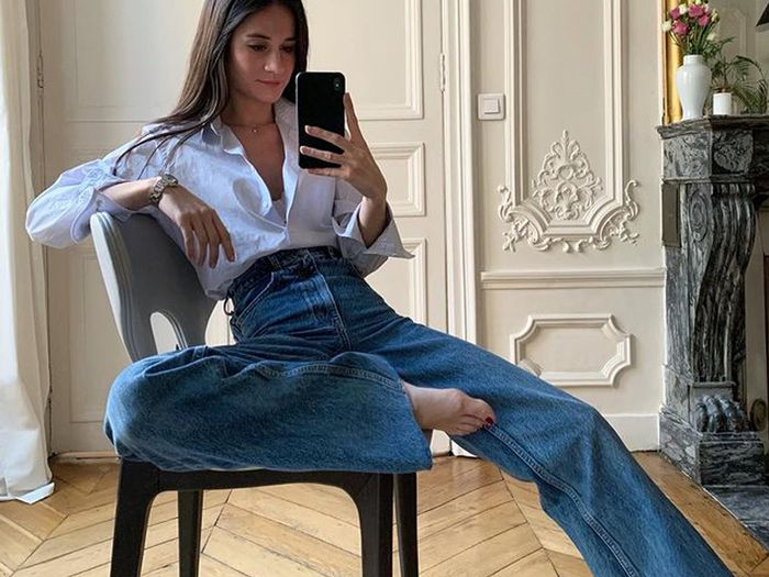 """These 6 Outfits Have Convinced Me to Try This """"Old"""" Jeans Trend"""