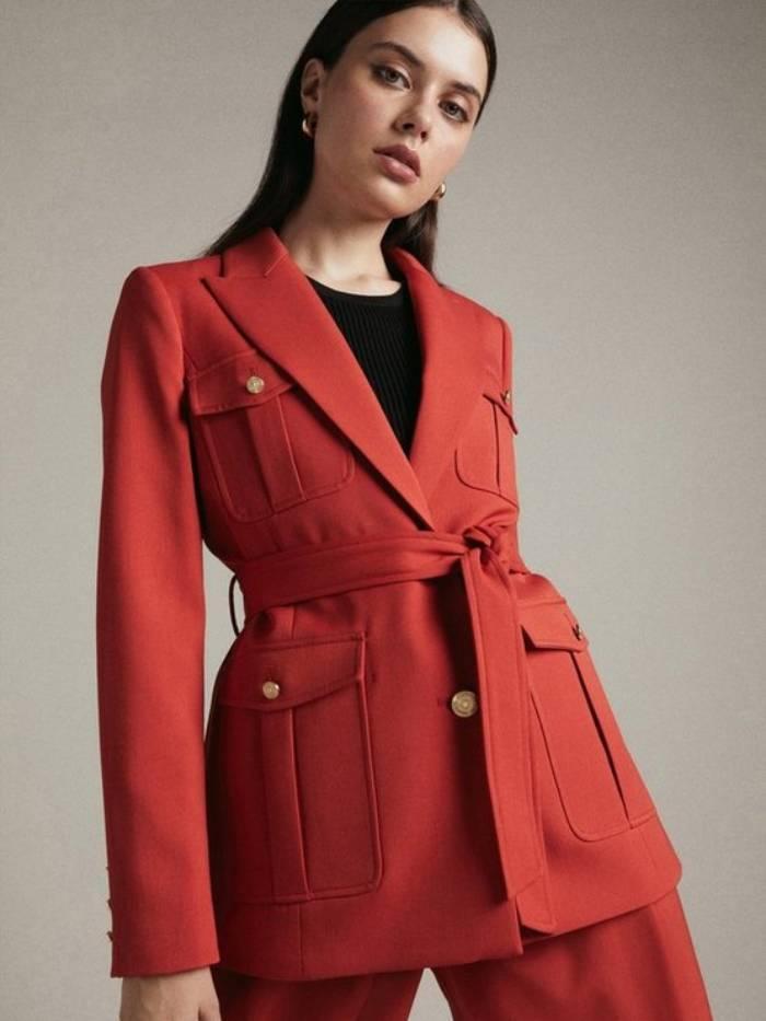 Karen Millen Autumn - Red Suit