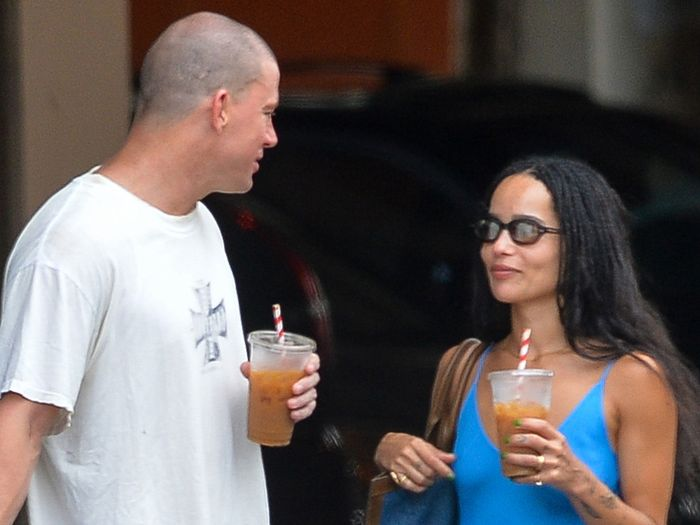 Zoë Kravitz Wore the Perfect Daytime Date Outfit With Channing Tatum